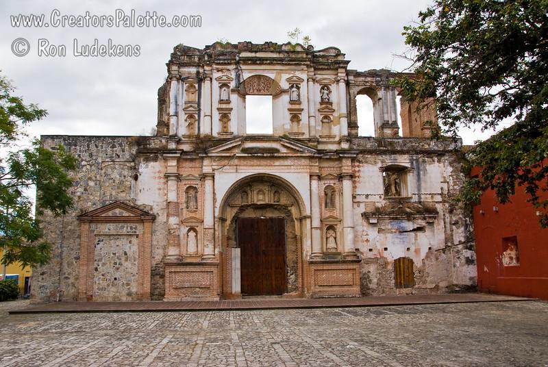 Guatemala Mission Trip - Day 8 - Friday, November 16, 2007<br /> Campania de Jesus church ruins in Antigua Guatemala