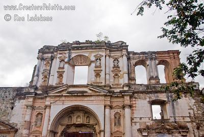 Guatemala Mission Trip - Day 8 - Friday, November 16, 2007 Campania de Jesus church ruins in Antigua Guatemala