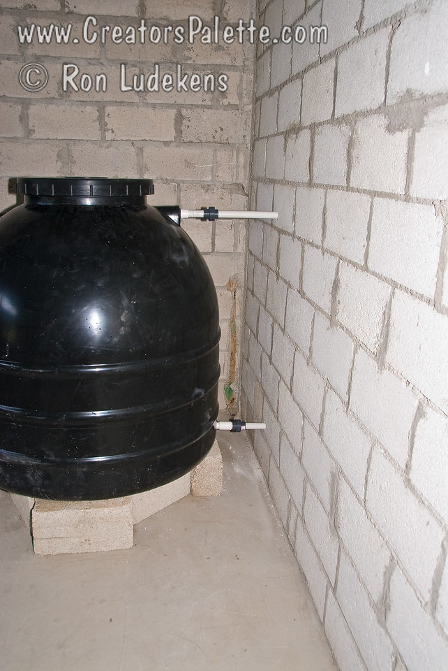Clean Water Tank installed.<br /> Guatemala Mission Trip - Day 5 -  Tuesday, November 13, 2007