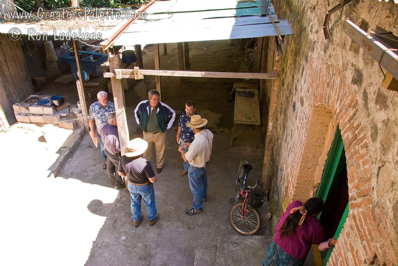 Future Installations.<br /> Inner courtyard of church in Panajachel.  This church will be serving clean water to its neighbors after our teams install a Clean Water System here in June 2008.  Goal is to install 2 water systems in June 2008, one in Panajachel and the other in San Pedro, across Lake Atitlan.<br /> <br /> If funds allow, teams will return again in November to install another two Clean Water Systems.  We hope to make two trips a year training people in health and hygene and installing as many clean water systems as funding allows.<br /> <br /> Guatemala Mission Trip - Day 3 -  Sunday, November 11, 2007