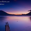 Guatemala - Lake Atitlan - Sunsets : Every evening we were treated to a different splendid display over Lake Atitlan.
