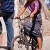 Guatemala Mission Trip - Day 3 -  Sunday, November 11, 2007<br /> Only time I saw a Guatemala woman in control of her own transportation.  Usually see them walking or on the back of a motorcycle or a passenger in a vehicle.
