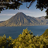 Guatemala Mission Trip - Day 4 - Monday, November 12, 2007<br /> We stopped at a lookout above Panajachel to view Lake Atitlan and surrounding volcanoes.  This is San Pedro Volcano.
