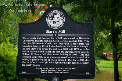 Starr's Mill - Fayette County, Georgia