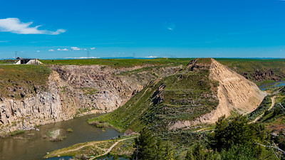 Teton Dam remains