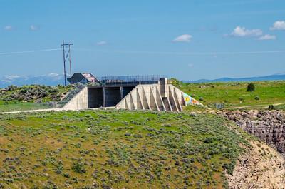 Teton Dam Spillway