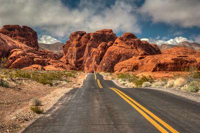 Image taken along road going to Atlati Rock