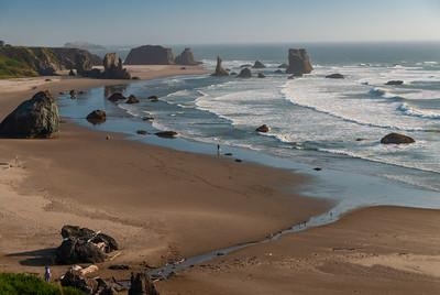 Oregon coastline south of Bandon.