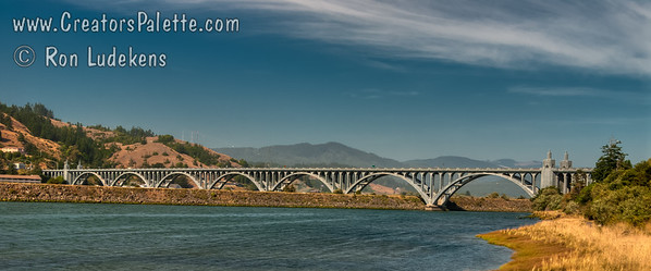 Final resting place of the Mary T Hume at Gold Beach by the Rogue River