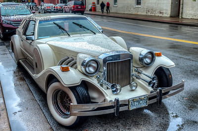 Zimmer Golden Spirit - four-door convertible based on a Lincoln Town Car chassis