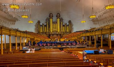 Home of the Mormon Tabernacle Choir