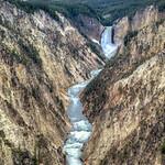 Yellowstone River,  Falls & Lake