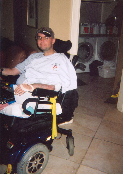 Sgt. Nick McCoy, U.S. Army Airborne from Reading, PA<br /> <br /> Nick suffered serious injuries in his head, arms, and upper body. He also lost both legs one above the knee, the other below the knee.