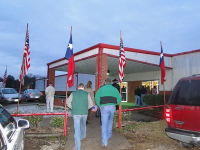Wounded Warrior Banquet in Huntsville, Texas