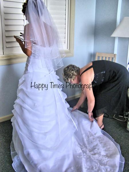 Randy & Sally's wed