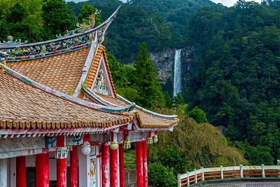 Chinese temple @ Nachi Tashia complex.