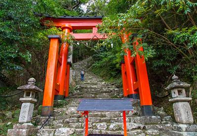 This leads to the Gotobiki Iwa rock.