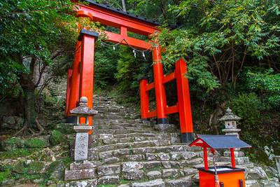 Torii at the Kamakura-jinga, near the Hayatama Taisha, Shingu town.