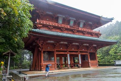 Tokugawa mausoleum.