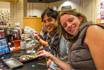 Dustin, Megan @ ChoJiro sushi