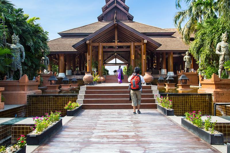 Aureum Hotel in Bagan.