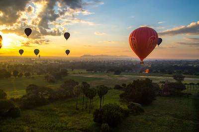 Myanmar '14-Bagan & Ballooning