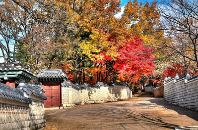 Gate of the Secret Garden, ChangDeokGung Palace