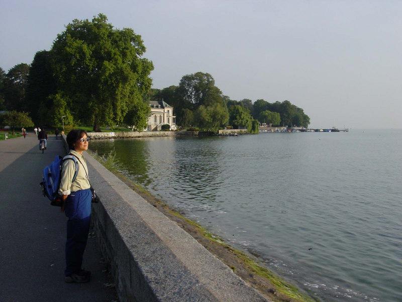 Lake Geneva.
