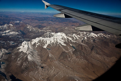 Himalayan foothills in Tibet.