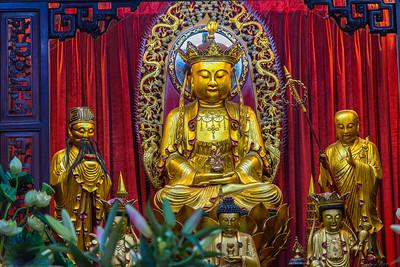 Buddha at Chua Van Phat, Hidden Pagoda