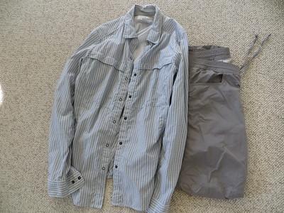 Pantalon leger & chemise legere (anti-moustique)