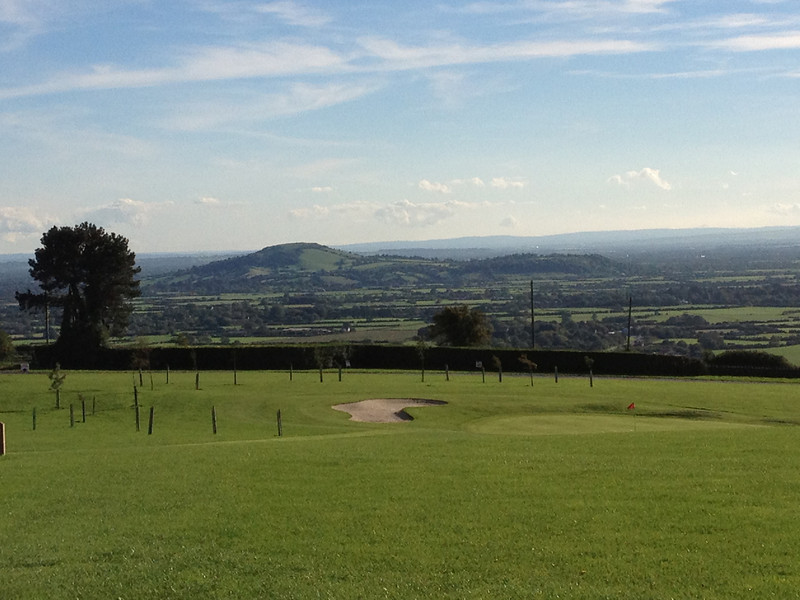 Bleadon Hill Golf Club is a beautiful place to be