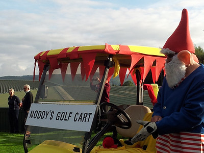 The usual dressing up for the new Captains' Drive In - Bob and Denise aka Noddy and Big Ears