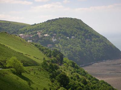 View into Lynton
