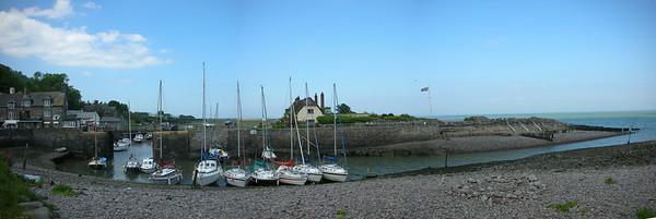 Panorama of Porlock weir