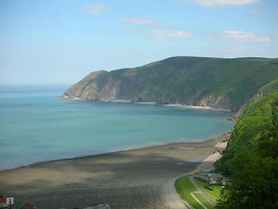 View from the cliff railway