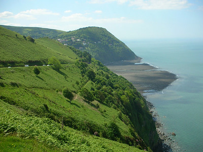 View into Lynton and Lynmouth