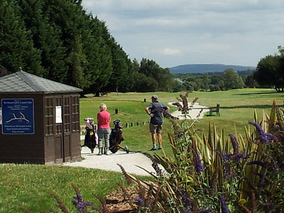 We also had a few days at the Dorset Golf Resort in Bere Regis and Tracey and Becky joined us