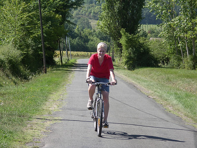 A cycle trip in the countryside