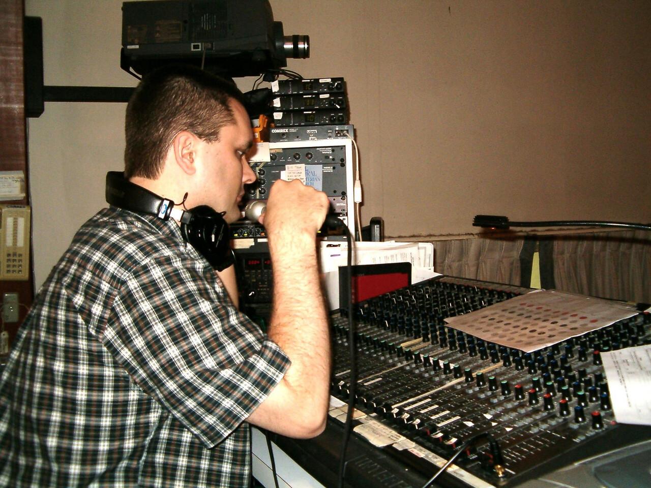 Jeff running sound. 4/2004.
