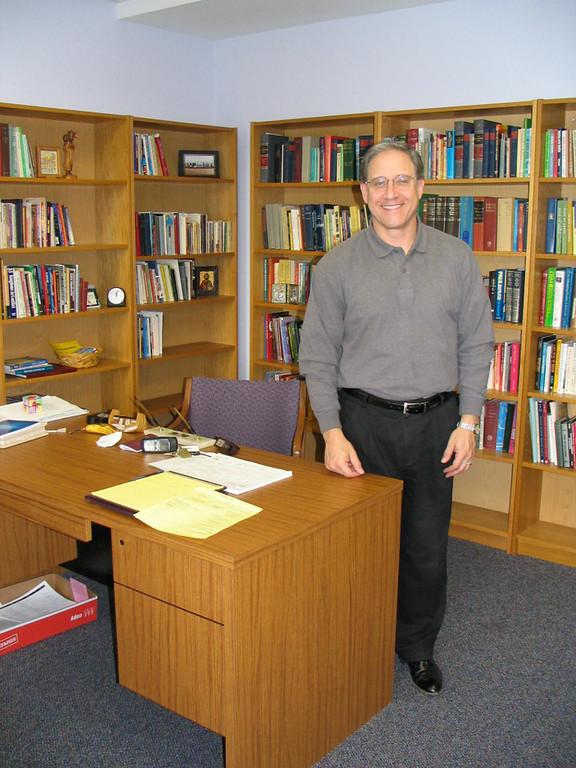 Rev. George Antonakos, in his office photo taken 11/2005
