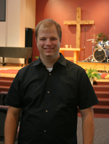 Andy Gathman Director of Contemporary Worship and Worship Support photo taken 8/2008