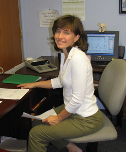 Margie Baker Finance Assistant photo taken 10/2006