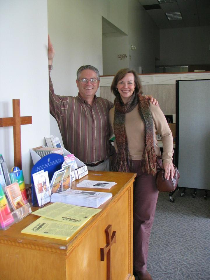 John and Debbie Schmidt photo taken 11/2005