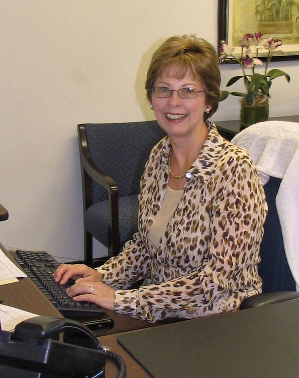 Sandy Strawhand Administrative Coordinator photo taken 10/2006