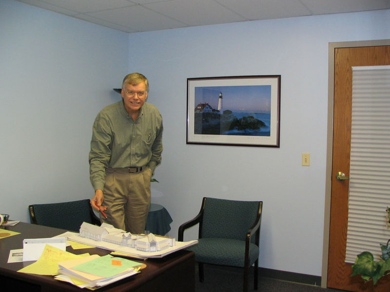 Jim McClure Executive Director Ministry Support photo taken 11/2005