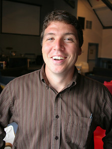 Joe Strube Assistant Director of Student Ministries, High School Ministry and College Age Ministry photo taken 7/2008