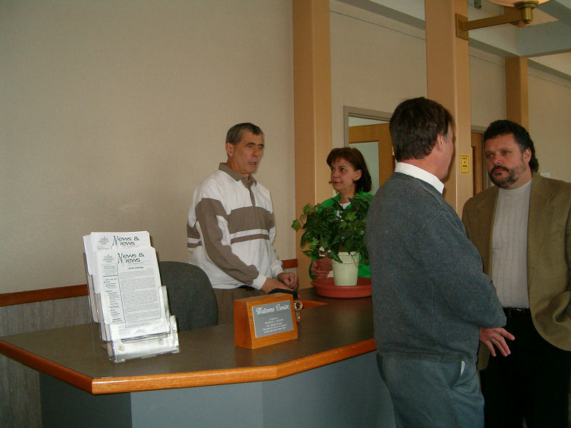 Get information at the Welcome Center