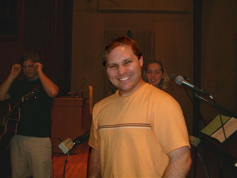 Worship team - Bryan