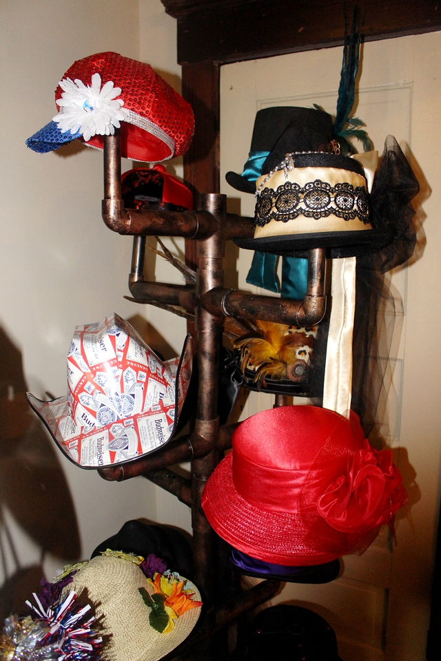Our Rustic Western Saloon Photo Booth's Props.